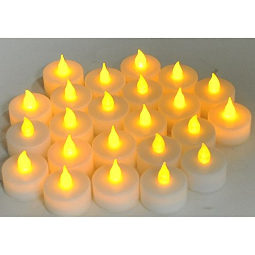 Instapark LCL Series Battery-powered Flameless LED Tealight Candles Pack of 24