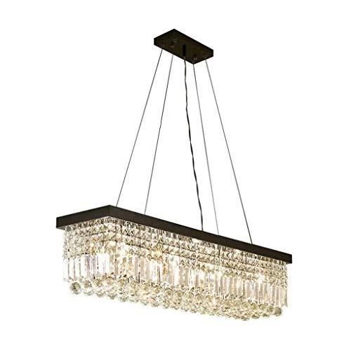 ZJM1 Modern Crystal Chandelier Lighting Embedded LED Ceiling Chandelier for Dining Room Bathroom Bedroom Living Room 6 E12 LED Bulb Size  652525cm