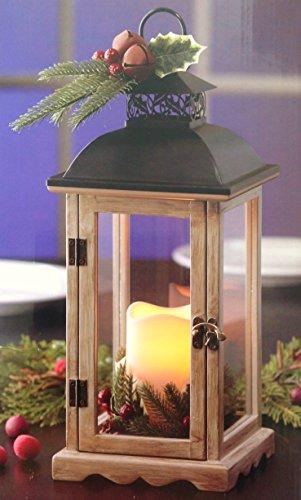 Decorative Holiday LED Candle Lantern - 145 Tall