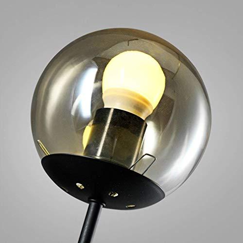 BOSSLV Retro Lamp Wall Lamp Transparent Glass Lamp Wall Lamp Antique Decorative Light Bulb Industrial Lamp Holder Adjustable E27 Indoor Lighting