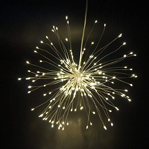 Lomanda 150 LED String Firework Lights Twinkle Lights DIY Led Lights Fairy Lights Festival Decorative Hanging Lights for Party Patio Bedroom Wedding Garden