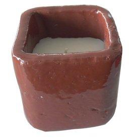 Garden Treasures 411-in Regional Crackle Ceramic Candle