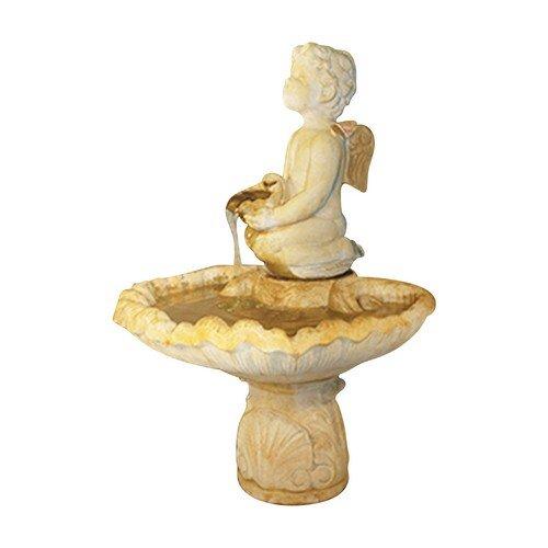 Henri Studio 3 Piece Smiling Cherub Fountain Relic Barro