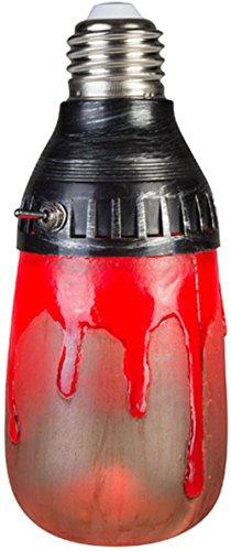 GEMMY LIGHTSHOW HALLOWEEN Bloody Red Short Circuit Bulb FLICKERING LIGHT EFFECT