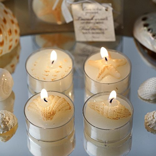 Tableclothsfactory Caribbean Island Beach Candles Favors - Wholesale 100 Candles Total