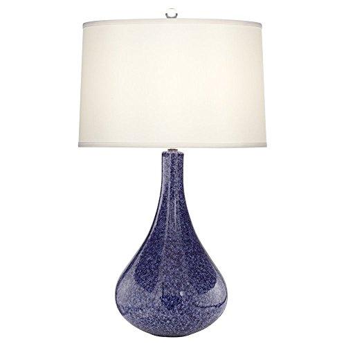 Atlantic Reactive Regatta Blue Ceramic Table Lamp