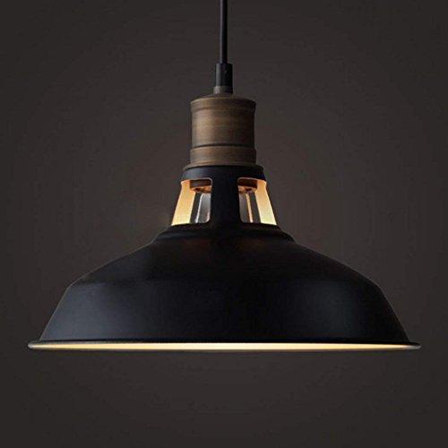 CLAXY Ecopower Industrial Barn Mini Metal Pendant Light 1 Light Renewed