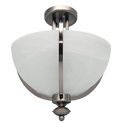 40 Clearance eTopLighting Semi-Flushed Lights Chandelier Ceiling Lamp Dining Room Lighting Fixture Chrome APLIQ152