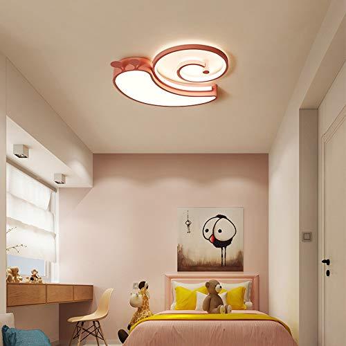 Ceiling Lamp Kids Ceiling Light Dimmable Flush Mount LED Ceiling Lighting Fixtures for Girls Room Bedroom Pink 19inch for Living Room Bedroom Kitchen Balcony Hallway