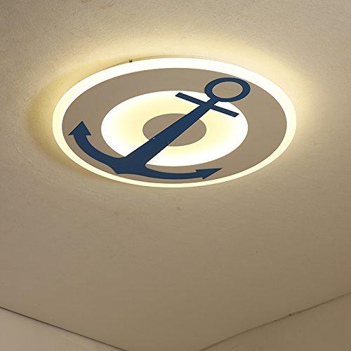 Renshengyizhan Modern LED Kids Room Lighting Children Ceiling lamp Light for Boys and Girls Baby Room Ceiling Lights LED lamp BedroomsDia45x4cm