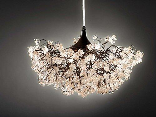 Chandeliers -Transparent Flower Ceiling Lights - light fixtures for the dining room - Bedroom lighting -Living Room lighting - Kitchen Pendant Lightshades