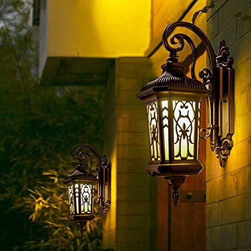 Wall Light Crystal Wall Lamp Mirror Front Light Vintage Industrial Outdoor Lighting Wall Sconces Lighting Antique Lighting Style Dining Lighting Exterior Wall Lamp Vintage Villa Garden Community Alum