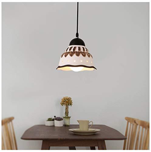 Light-S Ceramic Pendant Light Disc Ceramic Chandelier Creative Restaurant Ceiling Lighting Bar Cafe Bedroom Decor Fixture