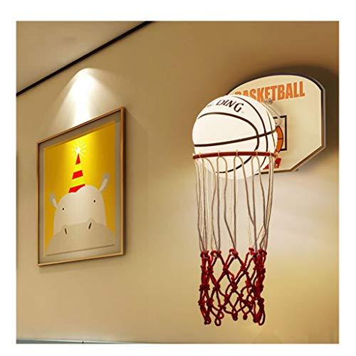 SX-ZZJ LED Wall Lamp Children Wall Lamp Cute Cartoon Creative Basketball Bedside Lamp Bedroom Modern Fashion Room Wall Lamp Color  Warm Light