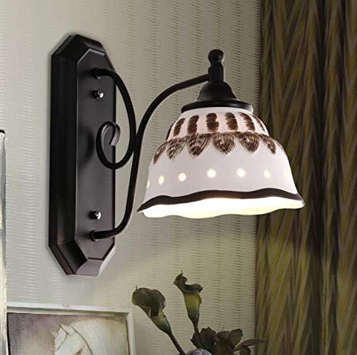 Creative Ceramic Wall lamp Diffuse Coffee Wall lamp Living Room Bedroom Decoration Ceramic Wall lamp lamp Lighting