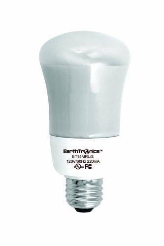 Earthtronics R214351b 14-watt 3500k R20 Cfl Floodlight Bright White