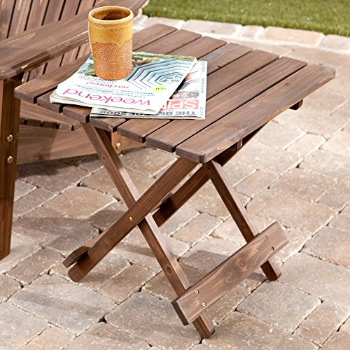 Coral Coast Ultimate Adirondack Table - Dark