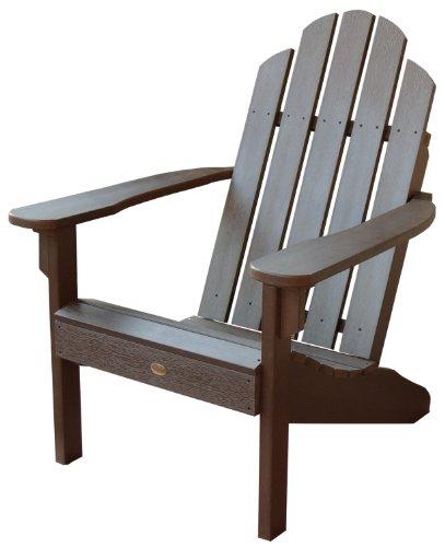 Highwood Classic Westport Adirondack Chair Weathered Acorn
