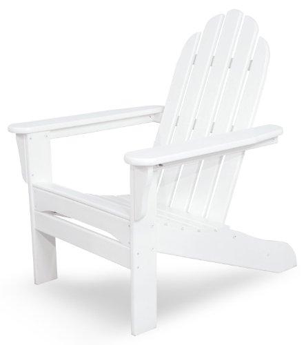 Ivy Terrace Iva15wh Classics Adirondack Chair White