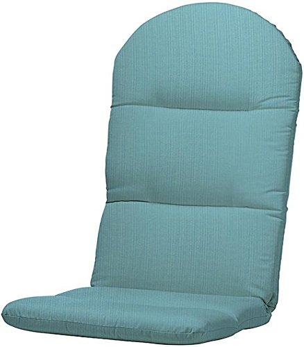 Bullnose Adirondack Outdoor Chair Cushion 2Hx205Wx49D ARUBA SUNBRELLA