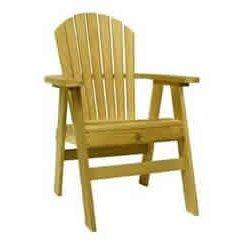 Outdoor Adirondack Dining Chair - Cedar