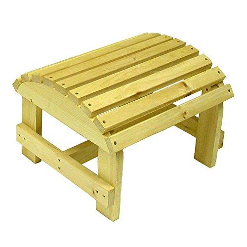 Bear Chair Company Adirondack Ottoman
