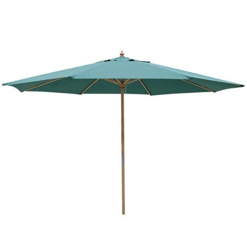 13 Foot Green Market Patio Umbrella Outdoor Furniture