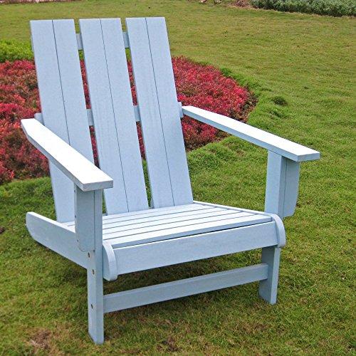 International Caravan Chelsea Acacia Adirondack Wood Patio Chair