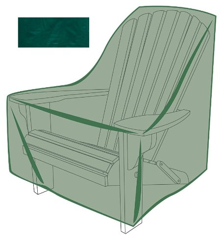 40&quotl X 34&quotw X 36&quoth Adirondack Chair Outdoor Furunitre Cover In Green
