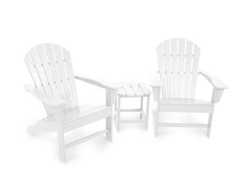 3-Pc Eco-friendly Outdoor Adirondack Set