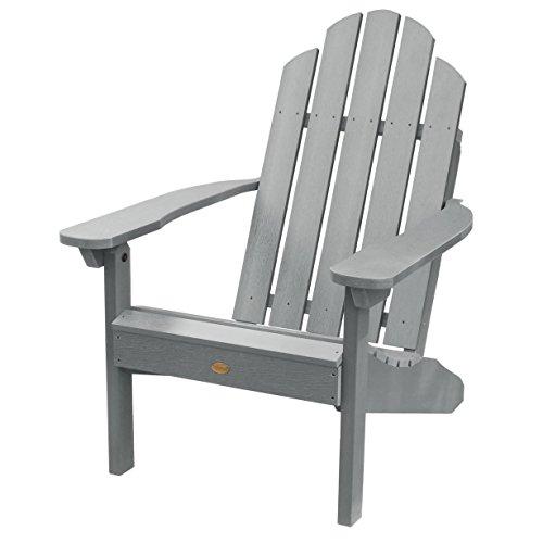 Highwood Classic Westport Adirondack Chair, Coastal Teak