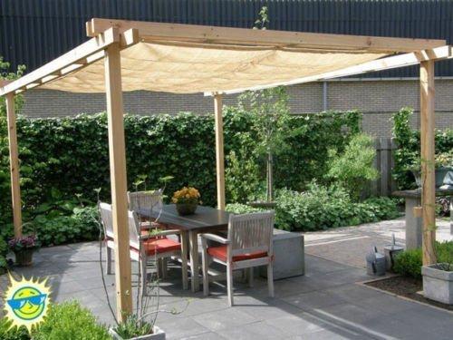 Shatex&nbsp12ftx12ftnbsp90 Uv Block Outdoor Sunscreen Shade Panel&nbsppatiowindowrv Awningtaped Edge With Grommet