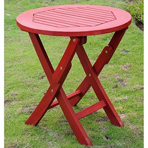 Chelsea Acacia Folding Patio Table