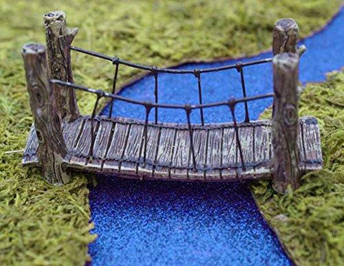 Miniature Fairy Garden Woodland Suspension Bridge