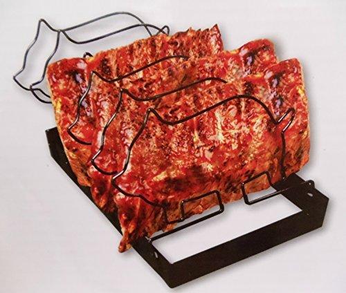 Gourmet Chef Pig Shaped Non Stick Grill Rib Rack
