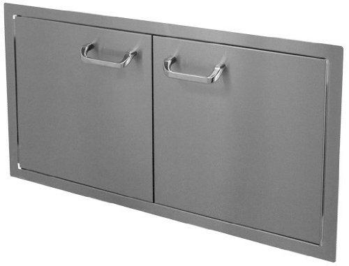 Hbi 36dd-std Hasty-bake Stainless Steel Standard Double Access Doors 36-inch