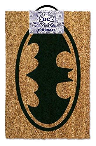 Batman - Door  Floor Mat Size 24 x 16 Doormat Logo