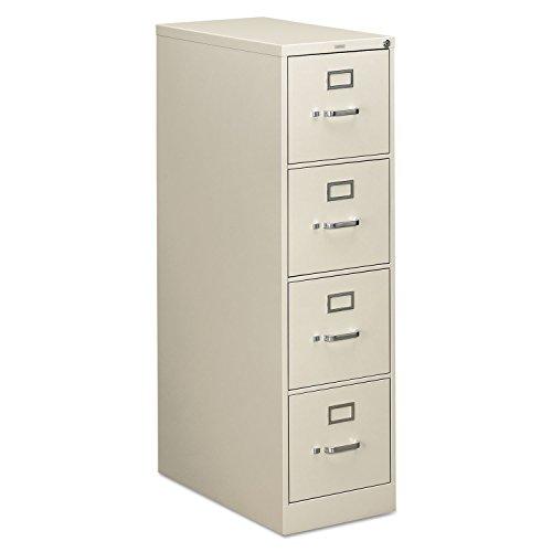 HON 314PQ 310 Series Four-Drawer Full-Suspension File Letter 26-12d Light Gray