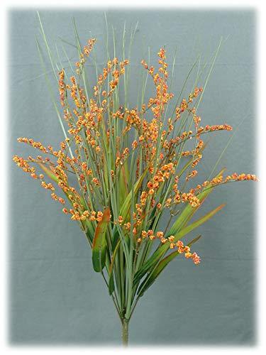 Liberty Artificial Foxtail Grass Fall Spray - 24 OrangeRed