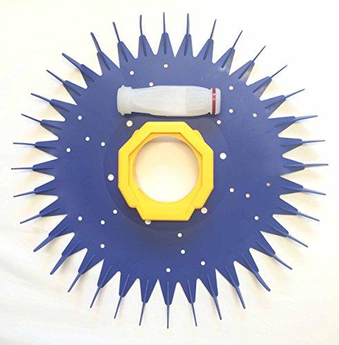 ATIE PoolSupplyTown Pool Cleaner Finned Seal Diaphragm Foot Pad Maintenance Kit Fits Baracuda G3 G4 Pool Cleaner W69698 W70327 W70329