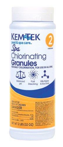 Spa-Kem 261-6 Spa Chlorinating Granules Pool and Spa Chemicals 2 Pounds
