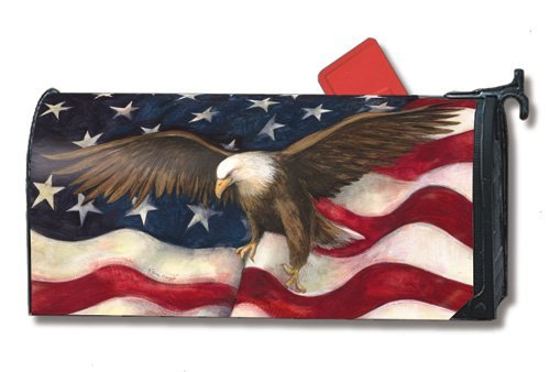 Mailwraps American Pride Mailbox Cover 04080