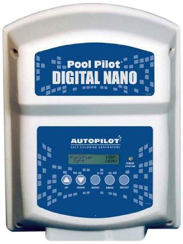 AquaCal Autopilot DN2 Digital Nano 220-volt Salt Chlorine Generator for Pools 22000-Gallon