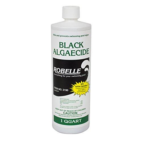 Robelle 2190 Black Algaecide For Swimming Pools 1 Quart