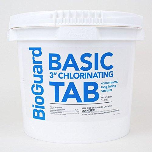 Bioguard Basic 3 Chlorine Tablets - 25 Lbs
