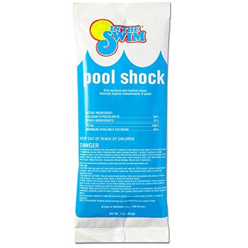 In The Swim Chlorine Pool Shock - 24 X 1 Lb Bags