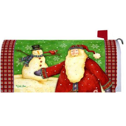 Custom Decor Santas Snowman Mailbox Cover