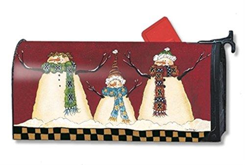 Mailwraps Primitive Snowman Mailwrap Mailbox Cover 01398