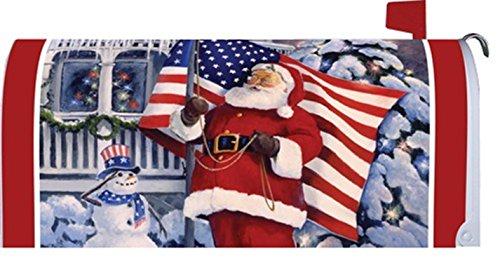 Mailbox Makeover - American Santa