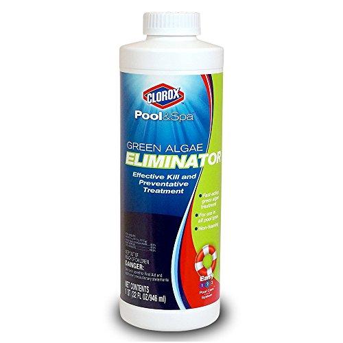 Clorox Pool&ampspa 42032clx Green Algae Eliminator 1-quart